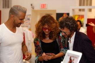 Brigitte Segura Jay Manuel HAMPTONS FASHION WEEK 2021 photo Phil Ferrara FashionDailyMag brigitteseguracurator summer @NeillovesBriLovesNeil
