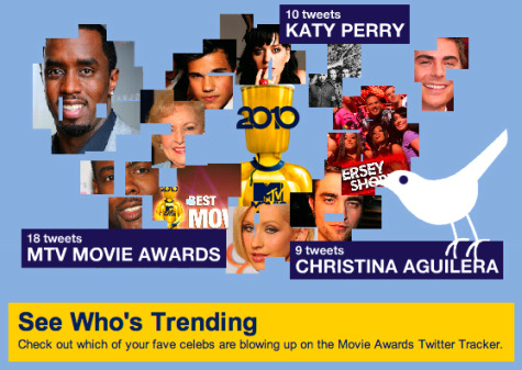 MTV 2010 Twitter