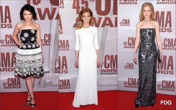 CMA Awards 2011 Red Carpet Fashion