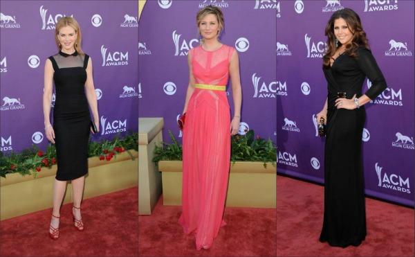 ACM Awards 2012 Best Dressed