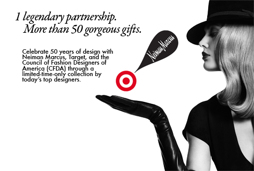 Target and Neiman Marcus join forces on Unprecedented Holiday Collection