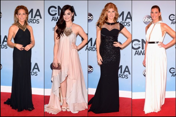 CMA Awards 2013 Red Carpet Fashion