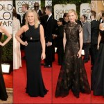 Golden Globes 2014 Red Carpet Fashion Black Dresses