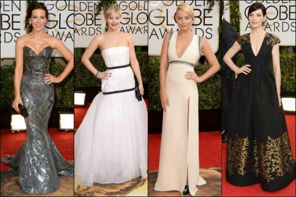 Golden Globes 2014 Red Carpet Fashion