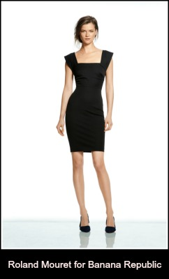 Roland Mouret X Banana Republic collaboration