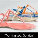Corinna Saias Working Gal Sandals