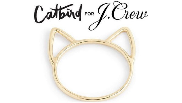 J Crew X Catbird collaboration