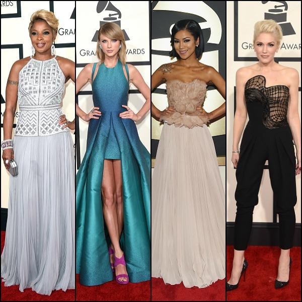 Grammys Red Carpet 2015