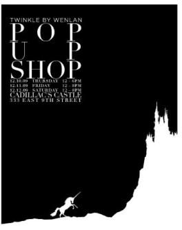 Twinkle Pop up shop