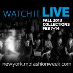 MBFW Live Stream Fall 2013