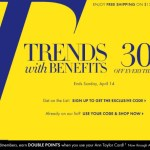 Ann Taylor Friends and Family Sale 2013: Save 30%