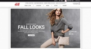 H&M launches E-Commerce shopping in the U.S.