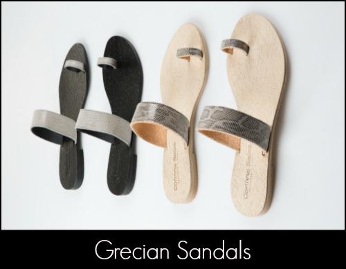 Corinna Saias Grecian Sandals