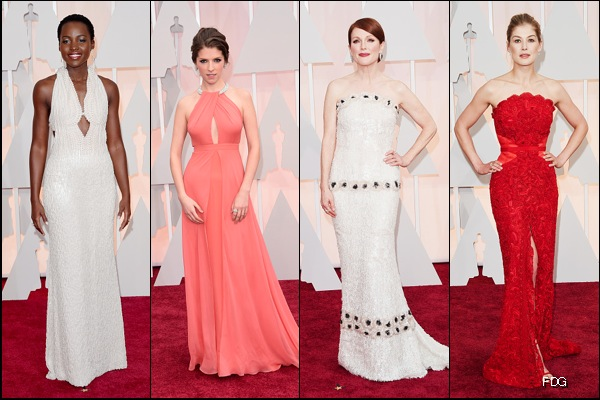 Oscars 2015 Red Carpet Fashion