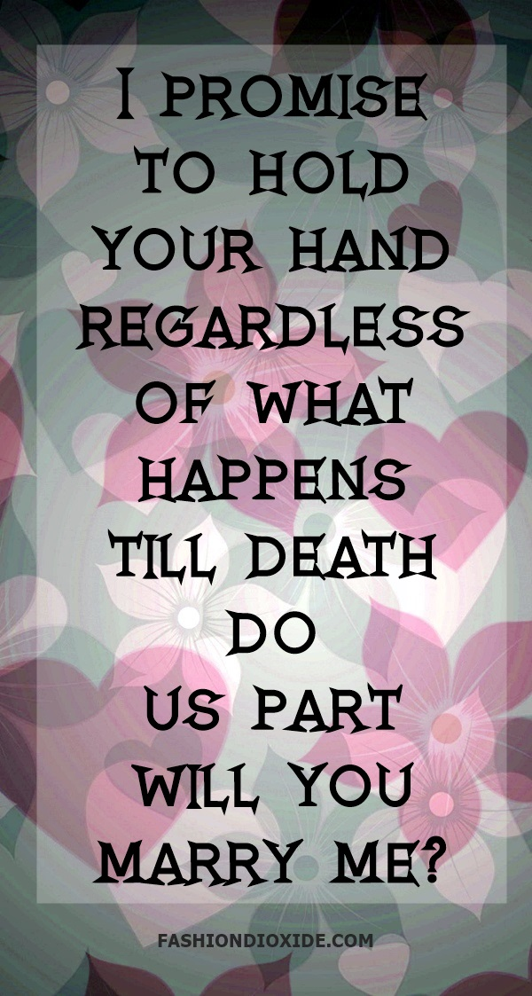 Will You Marry Me Quotes For Him : marry, quotes, Dead-Romantic, Proposal, Quotes,