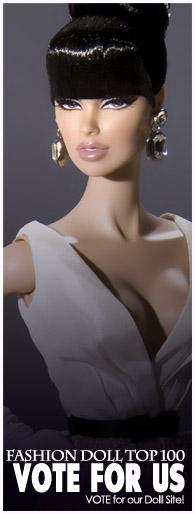 Fashion Doll Top 100 websites