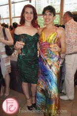 wearing: Kristyn Nowers (left)
