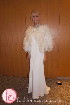 wearing: Vintage cape, Ralph Lauren dress