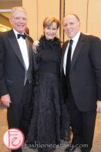 wearing: Marie Saint Pierre (middle), Armani (right)