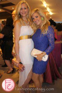 wearing: Zara dress & Shay Lowe Jewellery (left), Diane Von Furstenberg (right)