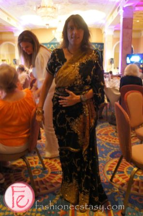 Colleene Callaghn wearing: dress from India