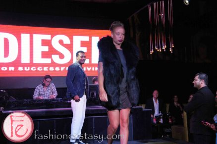 Stacey McKenzie @ Walk the One Way Diesel Fashion Show