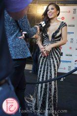 Keshia Chante @ M.A.C VIVA Glam Fashion Cares 25 Red Carpet