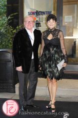 Bernadette Morra and Jimmy Molloy @ M.A.C VIVA Glam Fashion Cares 25 Red Carpet