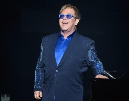 Elton John - Performance- George Pimentel, Wire Image