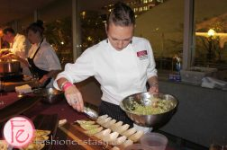 Eat to The Beat 2012 @ Roy Thomson Hall - Jerked Chicken WIngs with Green Apple & Nappa Slaw by Trista Sheen, Crush Wine Bar