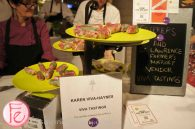 Eat to The Beat 2012 @Roy Thomson Hall - Fig and Red Cabbage Salad Rolls by Karen Viva - Haynes - Viva Tastings
