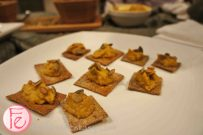 Roasted Pumpkin & Ricotta Spread on Flax Crackers by Professional Home Economist, Emily Richards