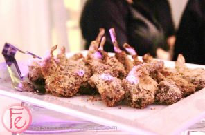 mini herb crusted lamb chops by Boccachio Ristorante