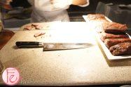 Carved Angus Ribeye & Fried Quail's Egg Pimenta Crisps & Chimmichurri by Chef Jamie Meireles & Chef Michael Robertson, Oliver & Bonacini @ 2012 Taste Canada - The Food Writing Awards