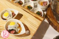 Carved Angus Ribeye & Fried Quail's Egg Pimenta Crisps & Chimmichurri by Chef Jamie Meireles & Chef Michael Robertson, Oliver & Bonacini @ 2012 Taste Canada - The Food Writing Awards