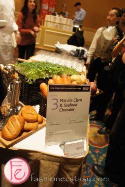 Manilla Clam & Seafood Chowder by Chef Richard Baksh, Earls Kitchen and Bar - 2012 Ocean Wise Chowder Chowdown Toronto