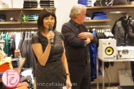 Bernadette Morra - Hugo Boss Yorkdale Grand Opening Party ft. Fashion Magazine Trend Report