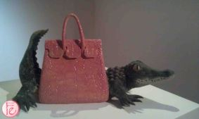 Crocodile Couture by Yu Pei Lian- Elle 21st Anniversary 'Art Meets Fashion @ Bellavita