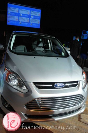 Ford's Blue Party - Unveiling of the All New 2014 Ford Fiesta - 2013 Ford C-Max Energi