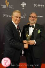 Gordon Sinclair Award- Harvey Slack (for Laurier Lapierre)- 1st Canadian Screen Awards - Television & Digital Media Awards Show