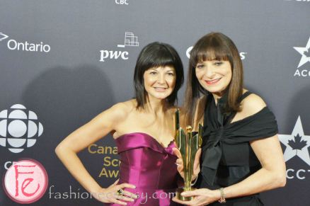 Jeanne Beker & Bernadette Morra @ 1st Canadian Screen Awards - Industry Gala Night 1