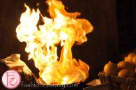 flaming cheese Saganaki