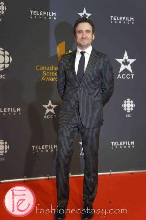 Allan Hawco ( Republic of Doyle) Canadian Screen Awards Broadcast Gala