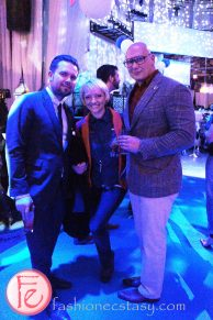 Casie Stewart & Spiro Mandylor - Grey Goose lounge launch at Muzik