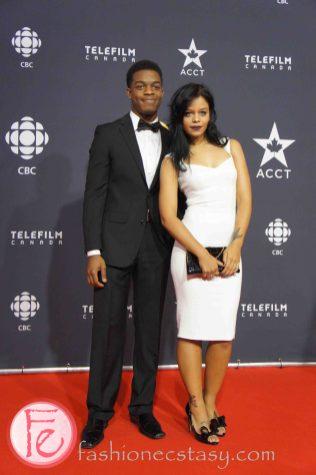 Fefe Dobson, Stephan James ( Home Again)- Canadian Screen Awards Broadcast Gala
