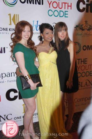 Jordan Clark, Kalista Zackhariyas, Sasha - The Youth Code National Launch & 1st Annual Fundraiser Show
