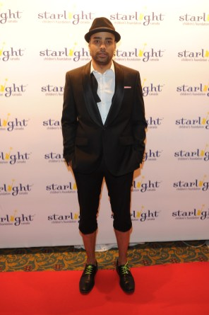 Rainbow Sun Francks at Starlight Gala 2013 Celebrity Red Carpet ( photos by George Pimentel)