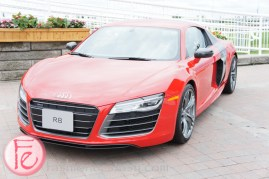 Audi R8 - 2013 Honorary Chair Bernadette Morra - Best Buddies 7th Thrill of Ascot 2013