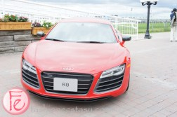 Audi R8 - 2013 Honorary Chair Bernadette Morra - Best Buddies 7th Thrill of Ascot 2013