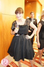 Opera Atelier?s Versailles Gala 2013 : An Evening of Courtly Pleasures- Jeanne Beker wearin Lida Baday dress, gina shoes, vintage chanel purse